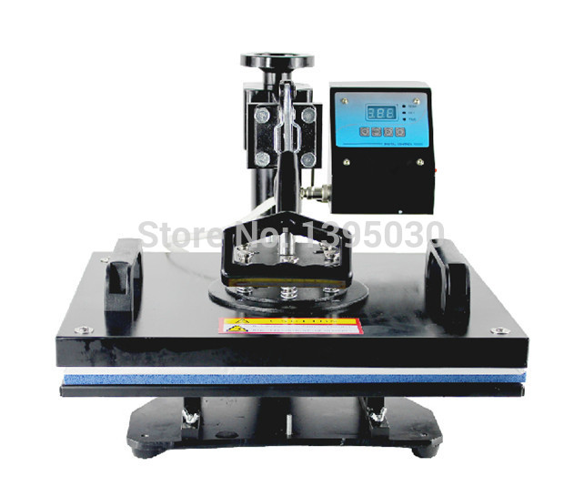 1PC 30*38cm T-shirt Swing Away Heat Press Machine/Shaking Head Heat Transfer Sublimation Machine 1pc 6in1 30 38cm t shirt swing away heat press machine shaking head heat transfer sublimation machine