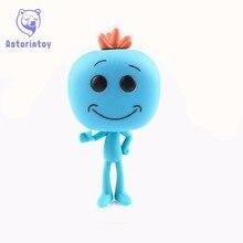 NEW 10m rick and morty mr meeseeks action figure font b big b font Bobble Head