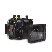 Meikon X T20 130ft/40 м Водонепроницаемая подводная камера корпус чехол для Fujifilm XT 20, поддержка (16 50 мм/55 мм/15 55 мм) объектив