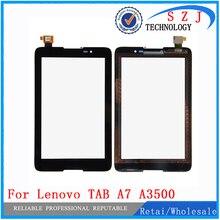 """Nuevo 7 """"pulgadas tablet pc Para Lenovo TAB A7 A3500 A3500-HV Panel de la Pantalla Táctil Con Digitalizador Frontal del Objetivo de Cristal Envío gratis"""