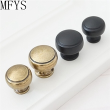 Drawer Knobs Pulls Handles Solid Kitchen Cabinet Knobs Pull Handle Black Antique Bronze Door Handles Knob Furniture Hardware цены онлайн