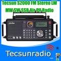 Envío gratis Tecsun S2000 FM Stereo MW LW SW SSB aire sintetizado Pll Radio S2000