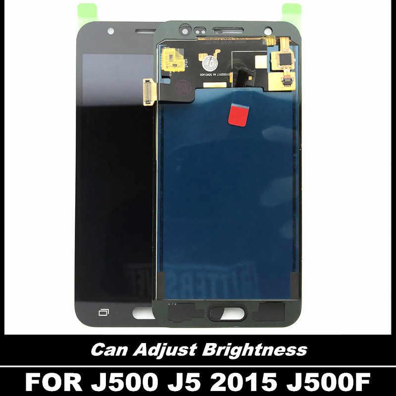 ทดสอบความสว่างสำหรับ Samsung Galaxy J5 2015 J500 J500F J500H จอแสดงผล LCD Touch Digitizer