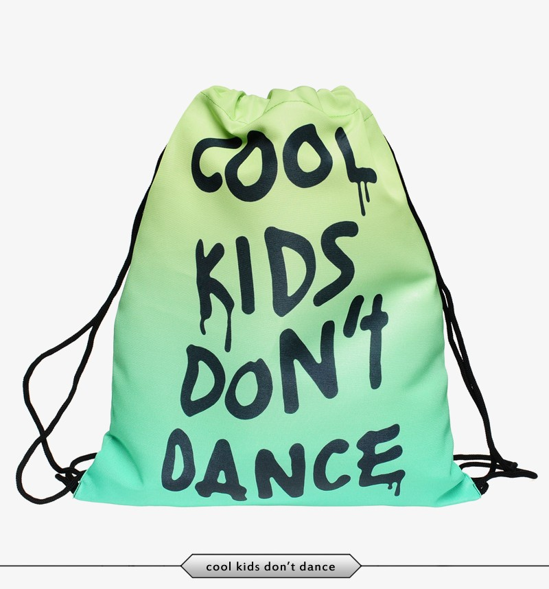 Men's Backpacks Wonmen Backpack Harajuku Drawstring Bag 2015 New ...