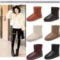 Al por mayor! nueva Moda Australia classic tall botas de invierno de cuero real Bowknot mujeres 3280 bailey Bailey arco botas zapatos de la nieve