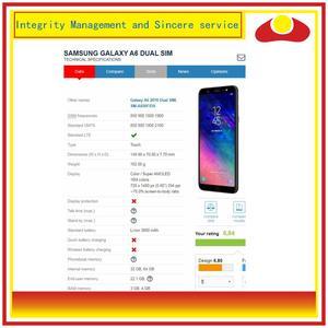 Image 4 - 10 pçs/lote Para Samsung Galaxy A6 2018 A600 A600F A600FN Montagem Do Monitor Do Painel de Display LCD Com Tela de Toque Digitador Completo
