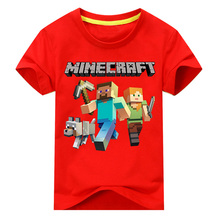 Cotton Boys Minecraft T-shirts for 2 to 12 Years