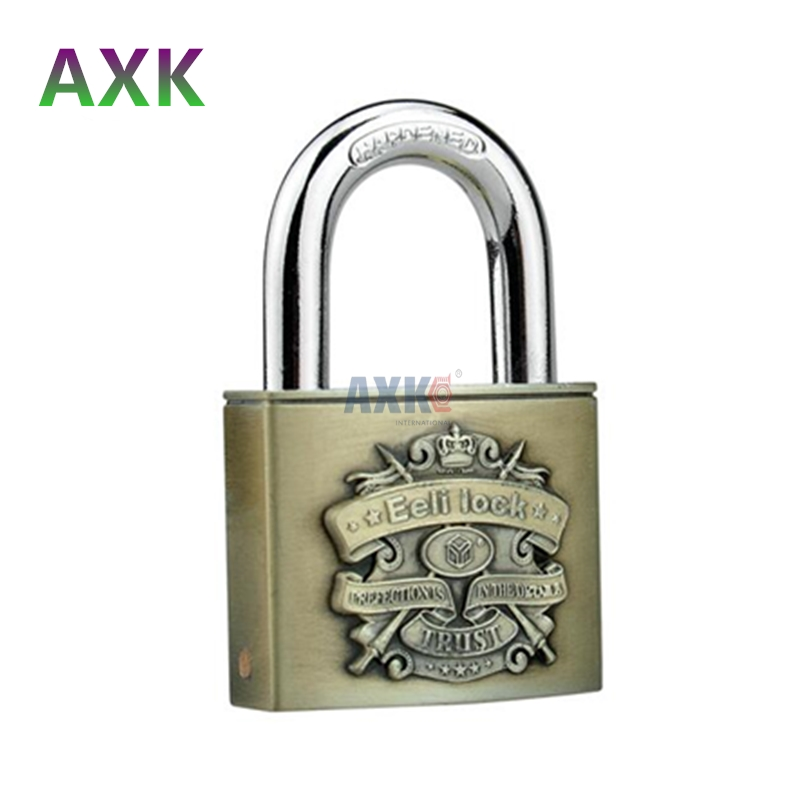 Lock core C-class drawer combination lock touch keypad padlock anti-rust padlock waterproof C-class 40mm half bag blade padlock waterproof anti rust padlock anti theft lock with keys for dormitory cabinet drawer warehouse iron gate