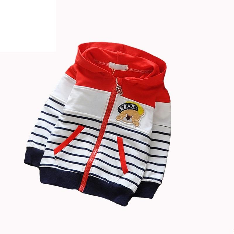 2018 Ny forår Autumn Kids Hoodies Frakker Drenge Sweatshirts Sport - Børnetøj