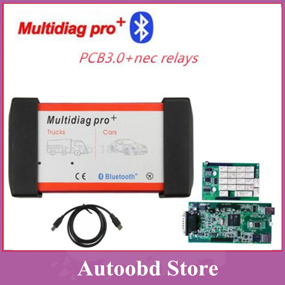Подробнее о New 2015.R3 Green Board nec relays 3.0pcb Multidiag Pro+ For Cars/Trucks And OBD2 With Bluetooth Same As TCS CDP Pro by DHL Free green pcb nec relays tcs cdp pro new designed red multidiag pro bluetooth 2014 r3 kengen obdii cars