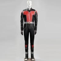 Ant Man Косплэй костюм Скотт взрослый костюм на Хэллоуин костюмы для мужчин карнавала вечерние кожаная куртка полный набор