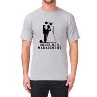 Loo Show Mens Under New Management Wedding T Shirt Tee