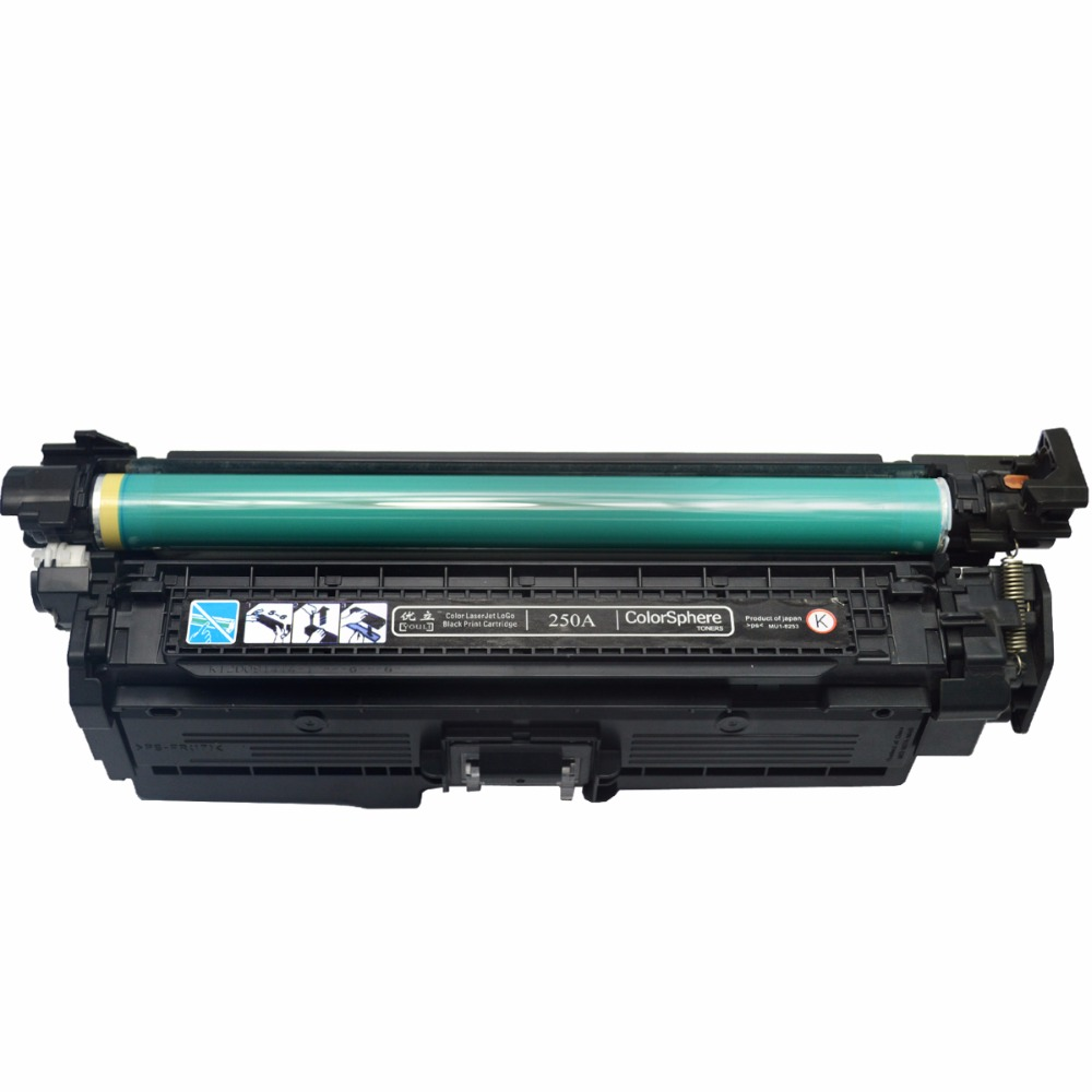 цены CNLINKCLR Replacement for 504A 504 CE250A CE251A CE252A CE253A Compatible Toner Cartridge for HP Color laserJet CP3525/CM3530