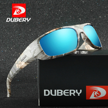 DUBERY Polarized Night Vision Camouflage Sunglasses Mens Male Camo Sun Glasses For Men Brand Designer Oculos Gafas De Sol D1418