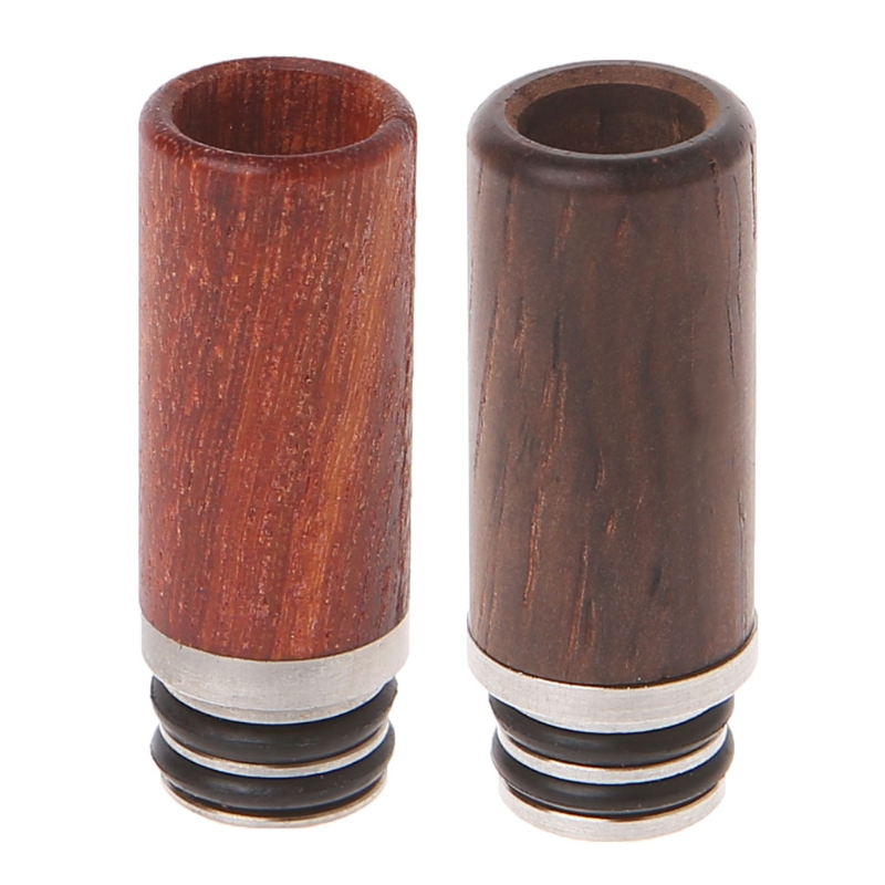 ECT Wooden 510 Drip Tip Long Metal Mouthpiece For Drip Tip 510 Atomizer Electronic Cigarette Vape Accessories