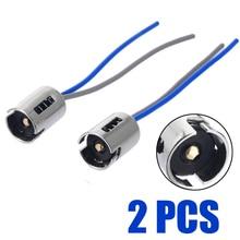 2 шт Автомобильный светодиодный светильник разъем 1156 BA15S 5009 5007 5008 автомобиль лампа кабель провод лампы для авто лампы гнездо адаптера