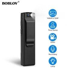 Boblov A3 Mini Digital Camera HD Law Enforcement Cam Magnetic Body Camera Motion Detection Snapshot Loop Recording Camcorder