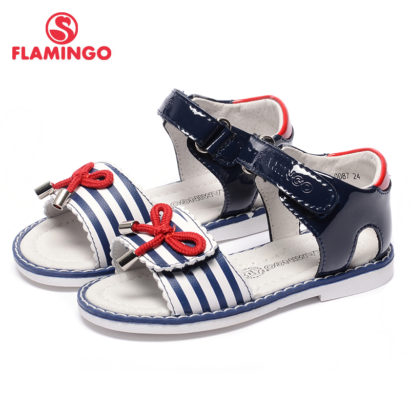 FLAMINGO famous brand 2017 new Arrival Spring & Summer kids fashion high quality sandals for girls 71S-CH-0087