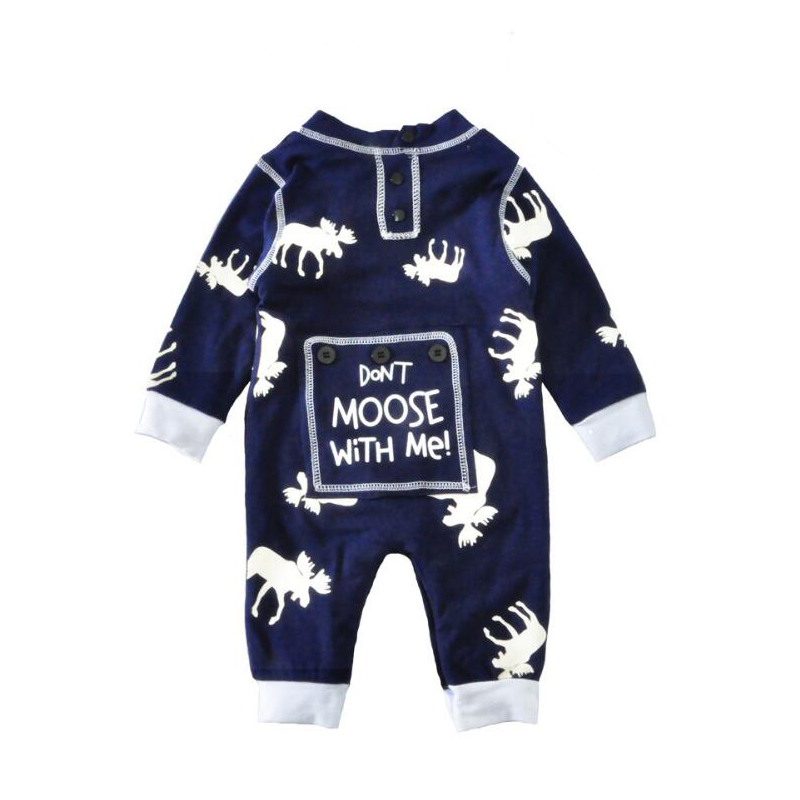 2018 Newborn Infant Clothing Baby Long Sleeve Rompers Boys Spring Jumpsuit Toddler Girl  ...