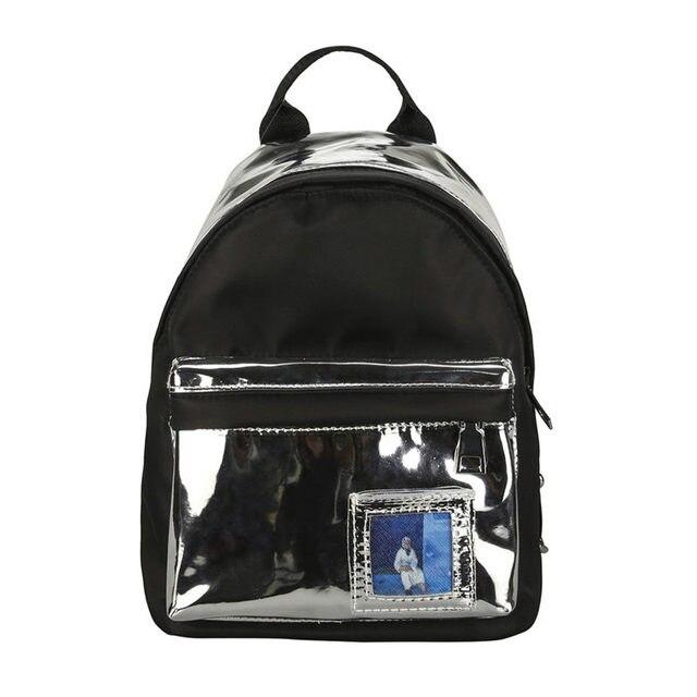 2018 Maison Fabre Women s Fashion Laser Backpack Girl School Shoulder Bags  Travel Rucksack Mochila Feminina Masculina fcd547361b652
