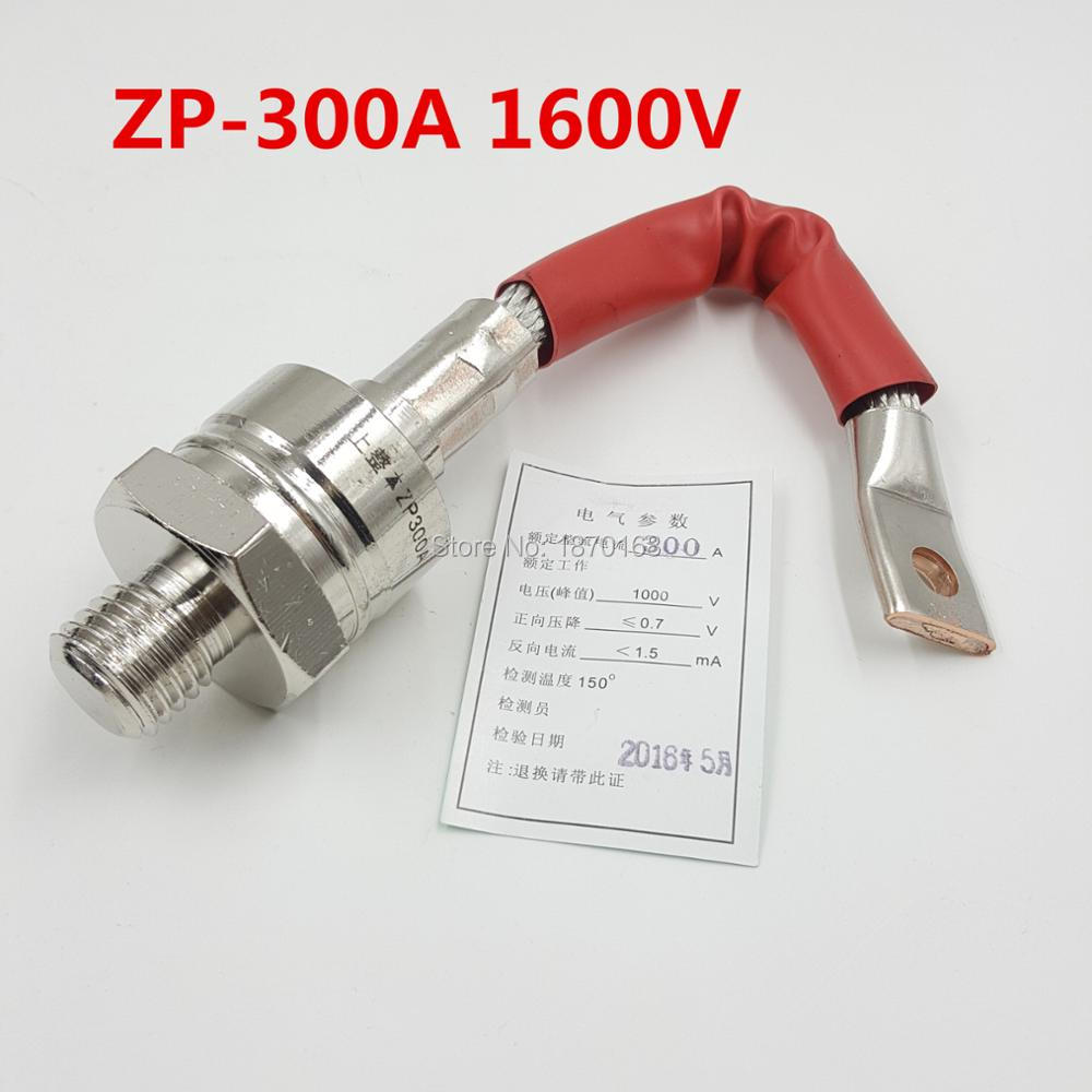 ZP-300A Stud Type Silicon Rectifier Diode 1600V 300A high quality zp500a 2cz concave type convex type silicon rectifier common rectifier tube
