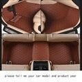 Для nissan Murano роскошные кожаные износостойкой Автомобилей коврики черный серый коричневый кофе нескользящей водонепроницаемый 3D автомобиль напольных Ковров