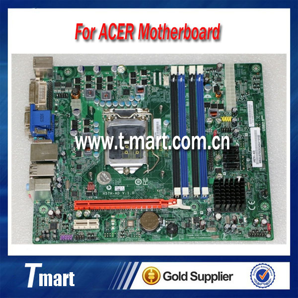 ФОТО 100% working For Acer H57H-AD V1.0  Desktop Motherboard  fully tested