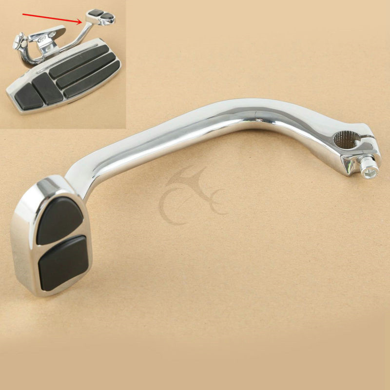Motorcycle Chrome Brake Lever Pedal For Honda Goldwing GL1800 & F6B 01-17 Valkyrie 14-15  Motorcycle