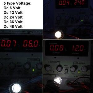 Image 2 - 6X led רכב אורות S25 p21w 1156 BA15S 1157 BAY15D BA15D 1W זכוכית כוס Canbus Dc 6 12 24 36 48 V וולט הנורה אוטומטי הפעל אות אור
