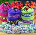 Frete Grátis! Promoção! 50 pcs Sabores Diferentes Chinesa de Yunnan Puer Puerh Chá, saco de chá chá Pu'er presente Para Os Cuidados de Saúde Perder Peso