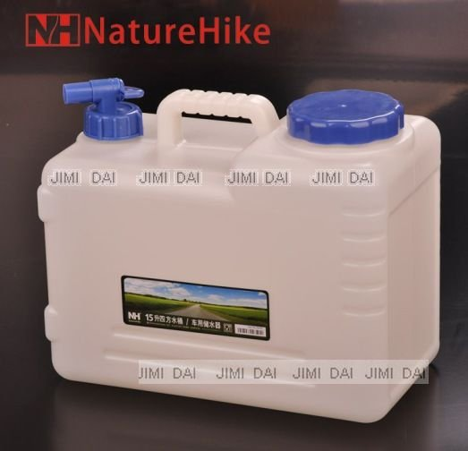15 L outdoor drinking water containers car use water containers