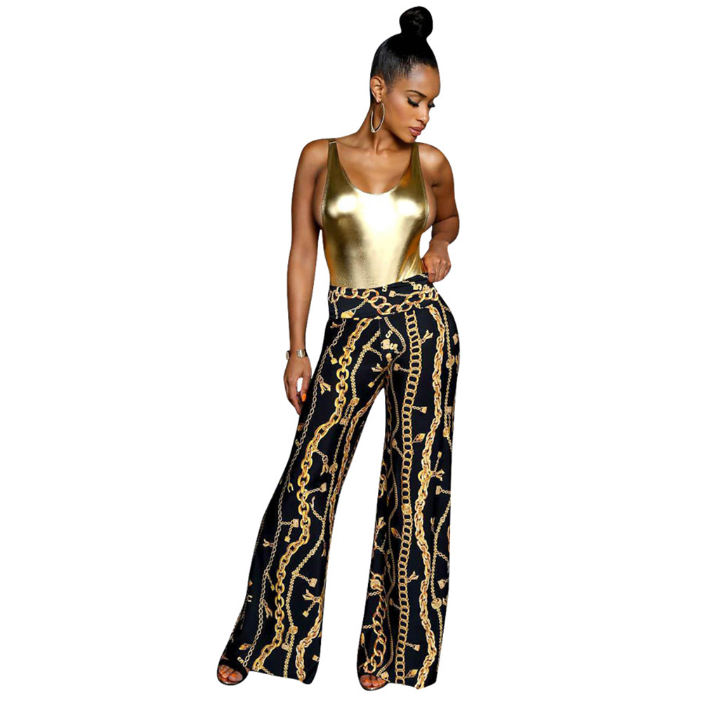 Image result for palazzo pants with short top black women