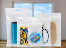 10000pcs 7.5*12cm Small Size Jewelry&Craft zipper Packaging pouch transparent plastic package bag Clear Self Seal Gift Candy Bag