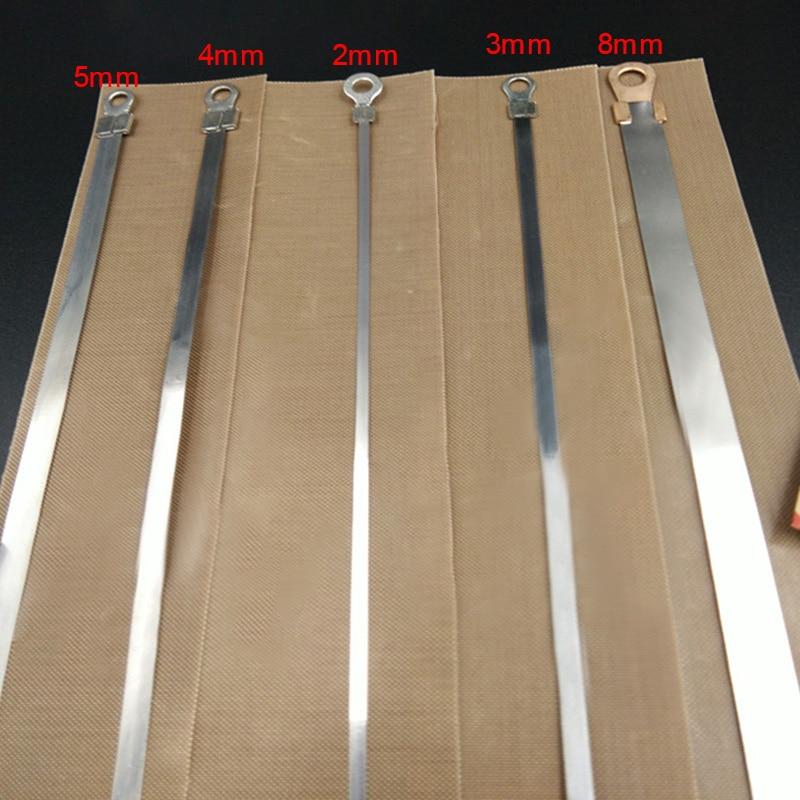 10pcs 200/300/400mm Impulse Sealer Heat Wire Element Strip Sealing Machine Heating Wire Heater Element