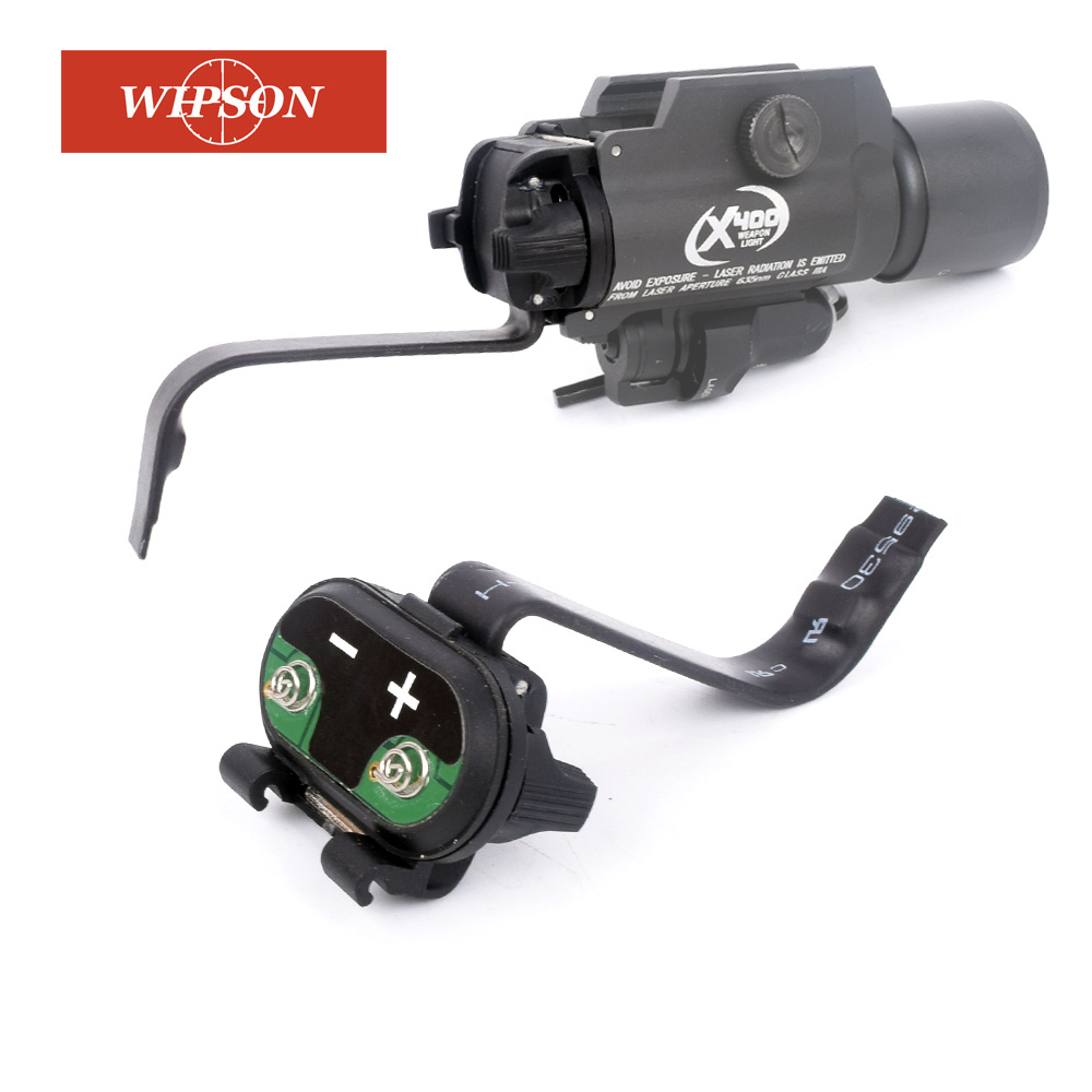 WIPSON 1911 Grip Switch Assembly For X-Series(X200 X300 X400 ) Flashlights For Surgical Control