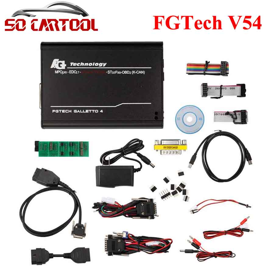 2017 Latest Version V54 FGTech Galletto 4 Master BDM-TriCore-OBD Function FG Tech V54 ECU Chip Tuning Tool by DHL Free штукатурка декоративная vgt фактурная вгт ведро 9кг