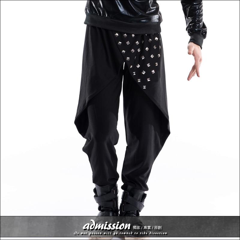 2745Nouveaux Hommes Danseur CostumesLivraison Harem Gratuite Noir Chanteurs Pantalons Scène Dj Bar Le Personnalité De Styliste Discothèque 9EHWIDbe2Y