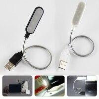 柔軟なポータブル USB ブックライト 4 の Led 読書ランプ夜ライトミニ LED ランプキーボードコンピュータノートブックテーブルデスクランプ