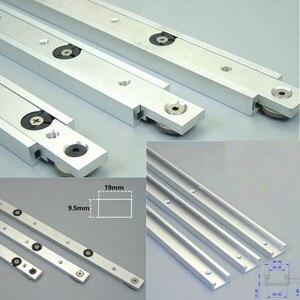 Aluminium alloy T-tracks Slot