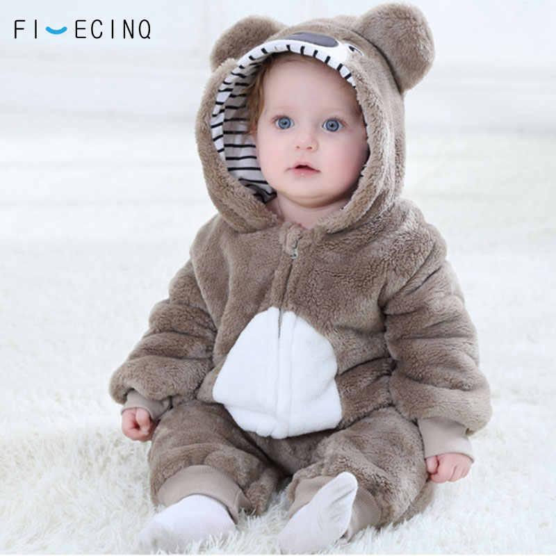 Милый кигуруми коала, детский комбинезон, пижама Kawaii, костюм животного для косплея, зимний теплый мягкий костюм для младенцев, вечерние костюмы на Хэллоуин