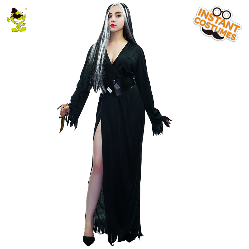 New Halloween Party Europe Devil Costume Women Corpse Bride Sexy Dress Cosplay Costume Bloody Creepy Party Zombie Costumes