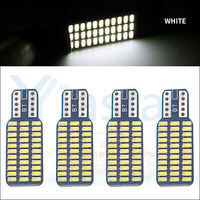 Yiastar 100X Car Styling New Canbus Car LED 33 SMD T10 3014 LED Reverse Light W16W 33SMD NO ERROR Backup Light Rear Lamp Parking