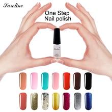 saroline One Step Professional  Nail Gel Polish lucky Color Glitter 3 in 1 UV Nail Gel No Base Coat Top Coat Soak Off