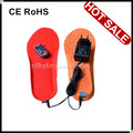 Rechargeable Battery Heated Insoles With RC Use in Winter