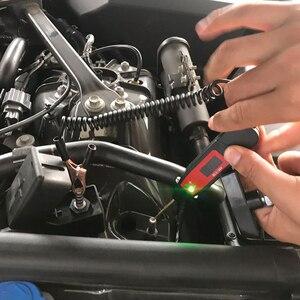 Image 4 - Trwałe 5 36V LCD do samochodu cyfrowe napięcie zasilania elektrycznego długopis testowy detektor sondy bezdotykowy Tester akcesoria LED Light