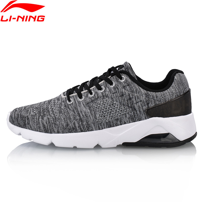 Li-Ning Men BUBBLE ACE SC Classic Walking Shoes Cushion Mono Yarn Breathable LiNing Fitness Sports Shoes Sneakers AGCN029 li ning women gel knit classic walking shoes wearable anti slippery sneakers mono yarn lining sports shoes agln044