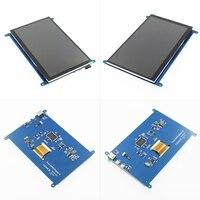 1pcs 7 inch Raspberry Pi 3 Model B+ LCD Display Touch Screen LCD 800*480 HDMI TFT Monitor