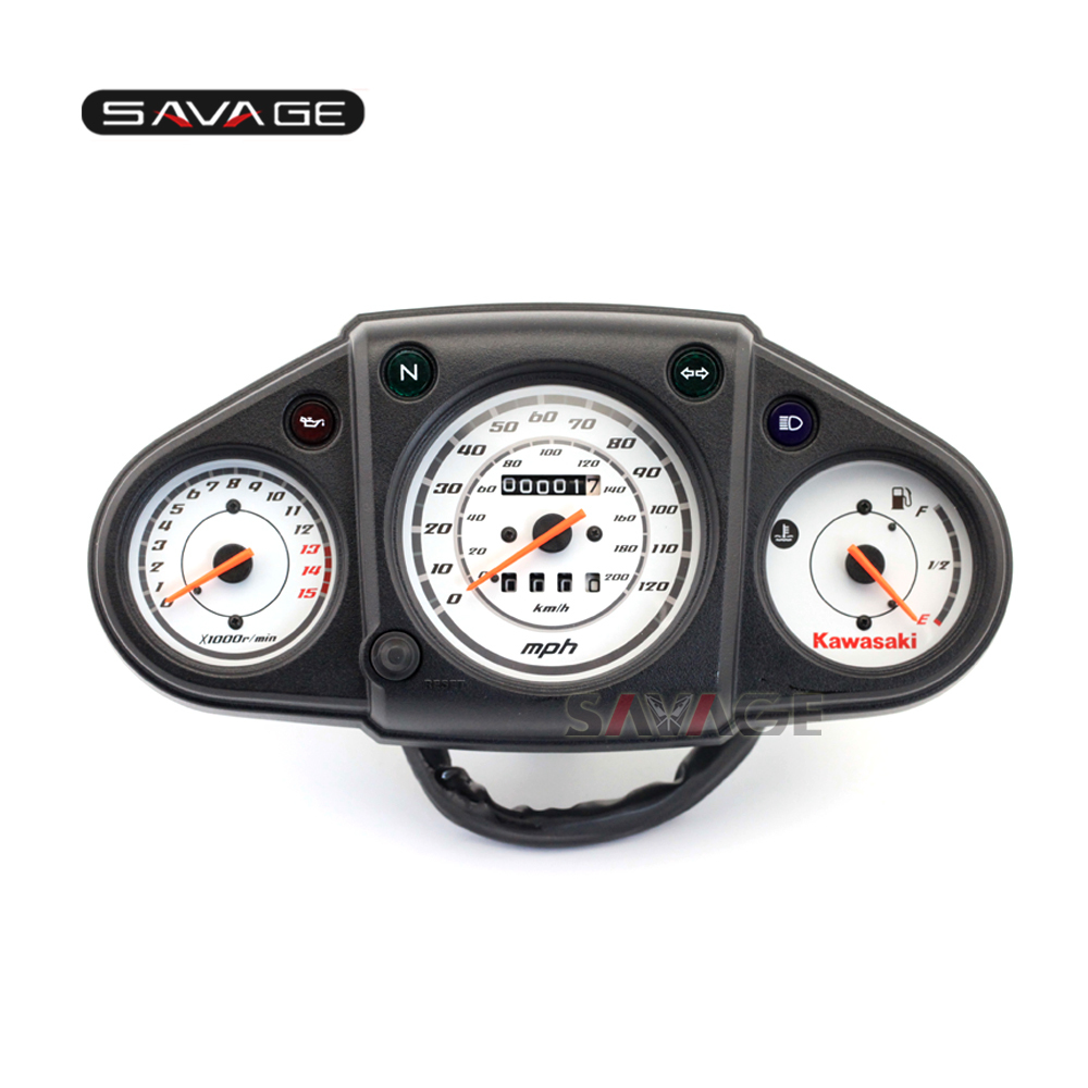For KAWASAKI EX 250 NINJA 250R 08-12 Motorcycle Meter New Genuine Speedo Tach Gauges Display Cluster Speedometer for kawasaki ninja 300 ex300a 2013 2015 motorcycle oem gauges cluster speedometer speedo tachometer instrument
