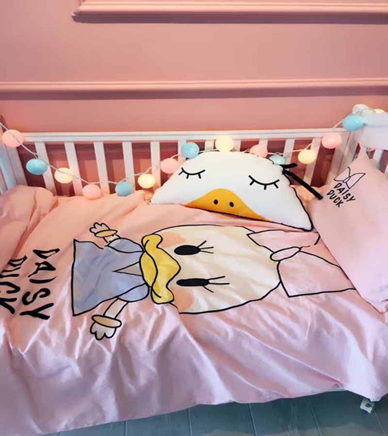 Bedding Sets Breathable Pretty Crib Baby Bedding Sets Cotton Character Bed Sheet Quiit Cover Pillow Case Baby Bed Three Sets стоимость