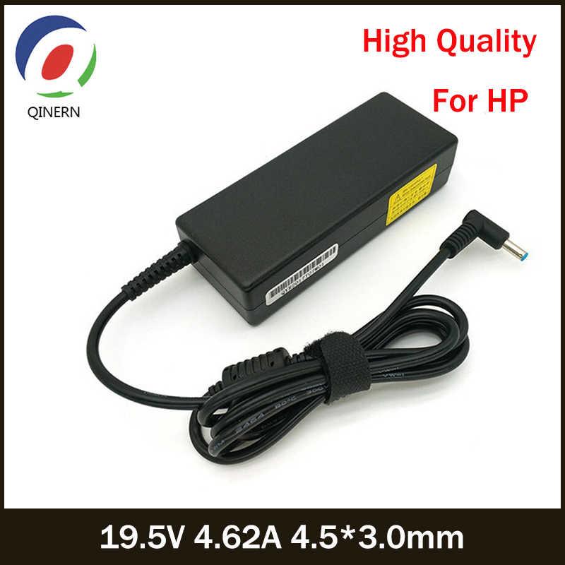 19.5V 4.62A 90W 4.5*3.0mm AC מטען נייד כוח מתאם עבור HP Pavilion 14 15 PPP012C-S 710413-001 קנאת 17 17-j000 15-e029TX